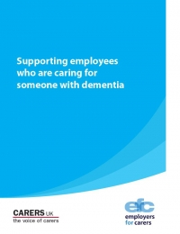 Supporting employees who are caring for someone with dementia