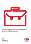 Supporting carers in your workforce - a manager's handbook